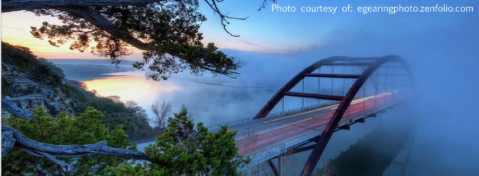 Evan Gearing Pennybacker Bridge Austin Texas Photo